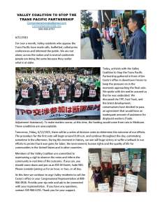 6-12-15 TPP Fast Track, TAA Vote