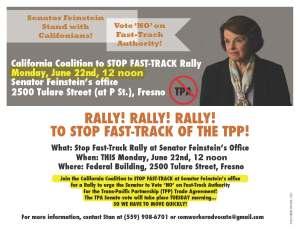 6-22-15 Rally Flier Fresno GO